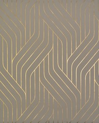 Ebb And Flow Wallpaper Khaki Gold by
