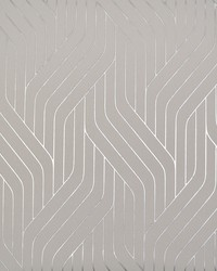 Ebb And Flow Wallpaper Grey Silver by