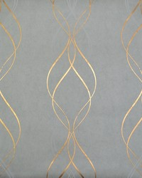 Aurora Wallpaper Blue Gold by