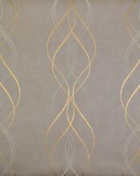 Aurora Wallpaper Khaki Gold by