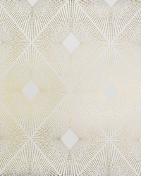 Harlowe Wallpaper White Gold by