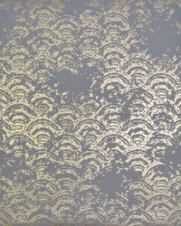 Eclipse Wallpaper Grey Gold by