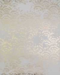 Eclipse Wallpaper White Gold by