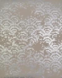 Eclipse Wallpaper Khaki Silver by