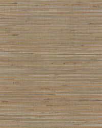 Bamboo Wallpaper metallic silver  tan by