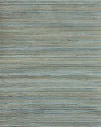 Petite Sisal Wallpaper aqua  teal  tan  gold by