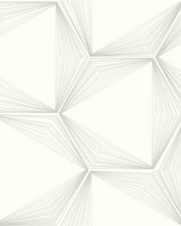 Honeycomb Wallpaper Light Grey  Light Gray by