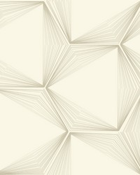 Honeycomb Wallpaper Cream by