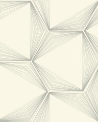 Honeycomb Wallpaper Silver by