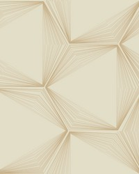 Honeycomb Wallpaper Gold by