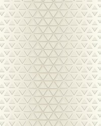 Rhythmic Wallpaper White Cream by