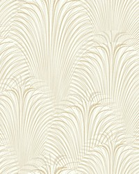 Deco Fountain Wallpaper Gold by