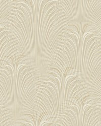 Deco Fountain Wallpaper Beige by
