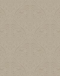 Romance Damask Wallpaper Cream by