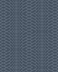 Illusion Wallpaper Navy by