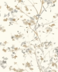 Sunlit Branches Wallpaper Neutral by