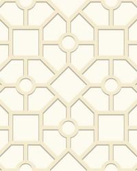 Hedgerow Trellis Wallpaper Beige by