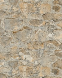 Field Stone Grasscloth Tumbled Tan Grey by