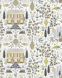 Camont Wallpaper Linen Gold by