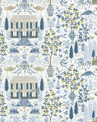 Camont Wallpaper Indigo by