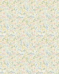 Tapestry Wallpaper Light Mustard by