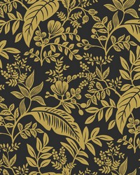 Canopy Wallpaper Gold Black by