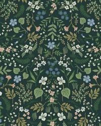 Wildwood Wallpaper Hunter Green by