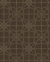 Gilded Wallpaper Dark Brown by