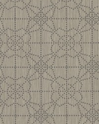 Gilded Wallpaper Brown Gray by