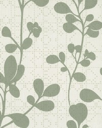 Sprig Wallpaper Green by