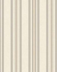 Multi Pinstripe Wallpaper Tan  Grey by