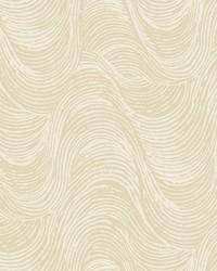 Great Wave Wallpaper - Beige Beiges by