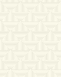 Kinetic Wallpaper - Pearl White Off Whites by
