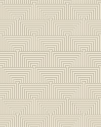 Kinetic Wallpaper - Pewter White Off Whites by