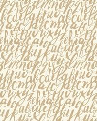 Chateau Wallpaper - Gold White Metallics by