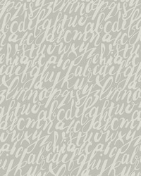 Chateau Wallpaper - Gray White Off Whites by