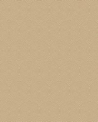 Concentric Wallpaper - Gold W Iridescent Metallics by