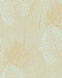 Seasons Wallpaper - Gold Blue Blues by