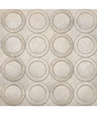 Embroidered Circles Wallpaper by