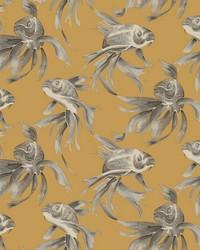 Koi Wallpaper Gold by