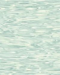 Still Waters Wallpaper Light Blue by