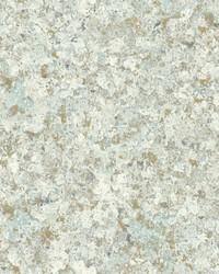 Zen Crystals Wallpaper Blue Gold by