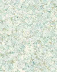 Zen Crystals Wallpaper Teal by