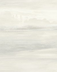 Soothing Mists Scenic Wallpaper White by