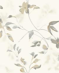 Linden Flower Wallpaper Tan by