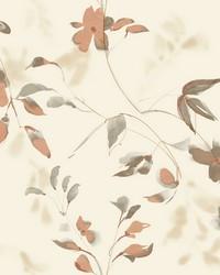 Linden Flower Wallpaper Orange by