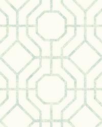 Lanai Trellis Wallpaper Lt Green by