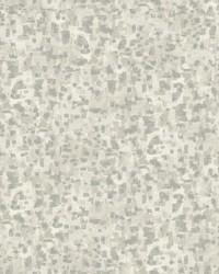 Sumi-E Brushstrokes Wallpaper Grey by