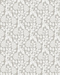 Plumage Wallpaper Gray by