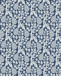Plumage Wallpaper Navy by